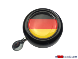 Bell Germany black dome sticker