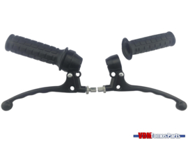 Handle set left/right black universal