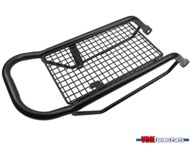 Rear carrier black Tomos A35/S25/Luxe/Etc