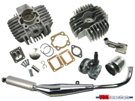 50cc Airsal cilinder opvoer set (38mm) Tomos A35/A52