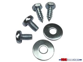 Mounting set chain guard Tomos A35/Qaudro/Etc