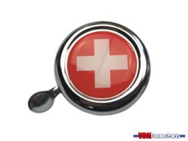 Bell Switzerland chrome dome sticker