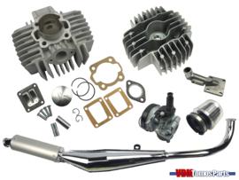 65cc Airsal cilinder opvoer set (44mm) Tomos A35/A52