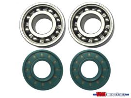 Crankshaft bearings/seals set Tomos A3/A35