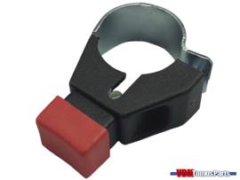 Motor stop switch handlebar mounting universal