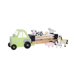Tractor met dieren - Jabadabado