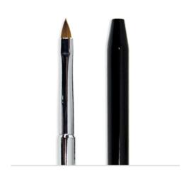 HD 3D Brush Metallic Black Handle