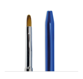 #5 Touch-Tip (Oval) Metalic Handle Blue