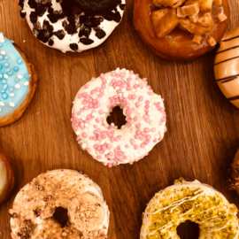 Geboorte donut its a Girl (15 stuks)