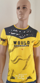 Shirt Geel ( Would )