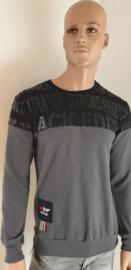 Sweater Grijs Zwart