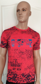 Shirt Rood-Oranje Obscure