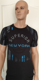 Shirt New York zwart