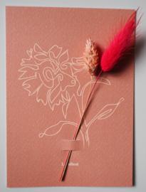 Bloemenkaart Flower Bulb