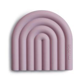 "Mushie - Teether / bijtring Rainbow ""Mauve"""