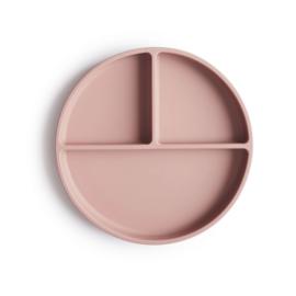"Mushie - Silicone plate / bord ""Blush"""
