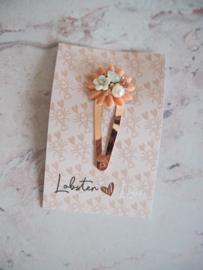 Haarspeldje 5 cm luxe bloem