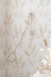 Blank houten stekker lamp (300 cm snoer)