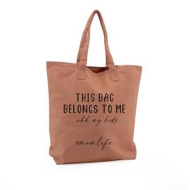 Mom bag clay
