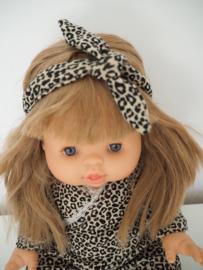 Haarbandje leopard