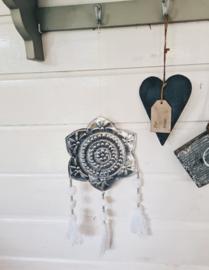 Hanger Aluminium Ster (wit)