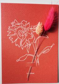 Bloemenkaart Royal Intrigue