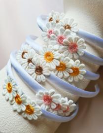 Prachtige diadeem Daisy (in 3 kleuren beschikbaar)