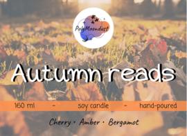 Boek kaars | Autumn reads