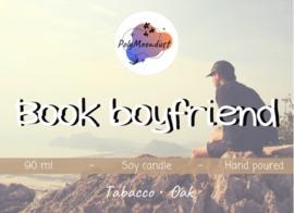 Boek kaars | Book boyfriend