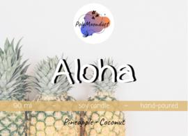 Aloha 160 ml   Disney geïnspireerde soja wax kaars