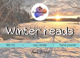 Boek kaars | Winter reads
