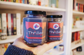 Thriller 160 ml   Bookish soy wax candle