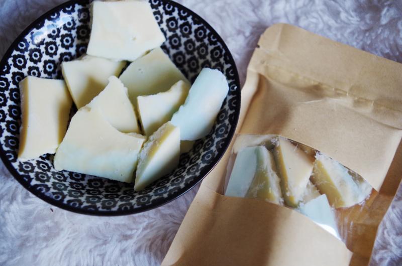 Soja wax brittle | Mandarijn & dennenappel