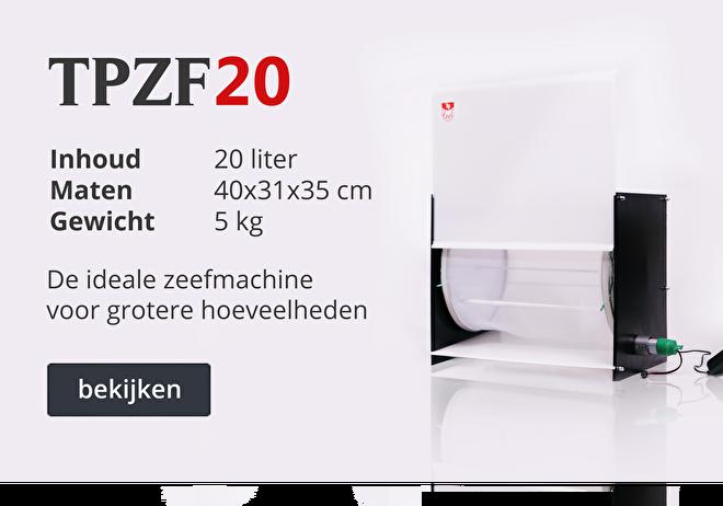 TPZF20 machine | Topzeef pollinator