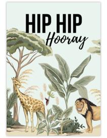 Hip Hip Hooray- Ansichtkaart - giveX