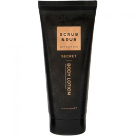 Body Lotion secret  - Scrub and rub -