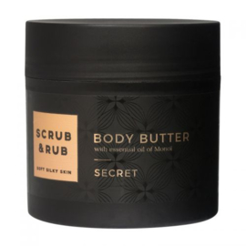 Body Butter secret  - Scrub and rub -