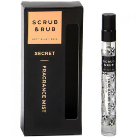 Fragrance Mist secret 10ml  - Scrub and rub -