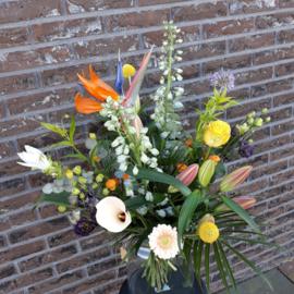 Boeket fleurig -groot-