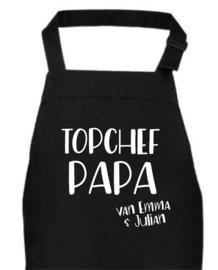 Schort TOPCHEF PAPA/OPA