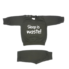 Pyjama 'Sleep is waste'