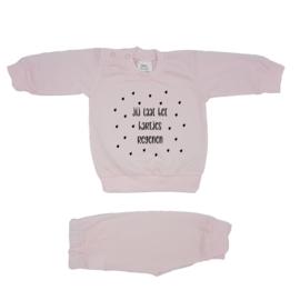 Pyjama 'Jij laat het hartjes regenen'