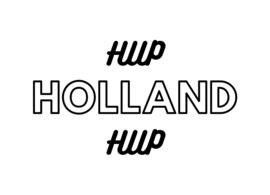Strijkapplicatie Hup Holland Hup
