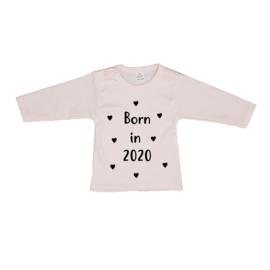 Born in 2020/2021 met hartjes