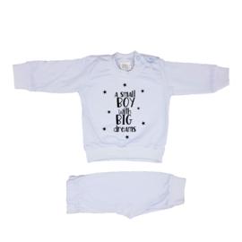 Pyjama 'a small girl/boy with BIG dreams'