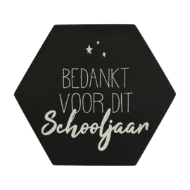 Stickerset 'Bedankt voor het schooljaar'