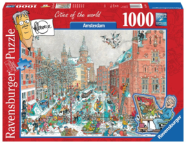 Puzzel Amsterdam Winter