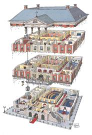Canvas stadhuis van Groningen
