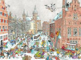 Puzzel Amsterdam Winter