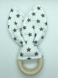 Little Bunny - sterren grijs